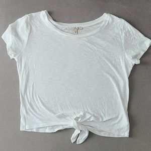 Express Front Knot Tee